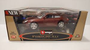 porsche dark red burago find offers online and compare prices at storemeister