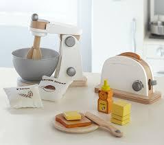 Pottery Barn Pro Chef Play Kitchen Wooden Appliances Pottery Barn Kids