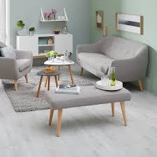 Schlafzimmer Bank Grau Sitzbank Egedal Gepolstert Grau Dänisches Bettenlager