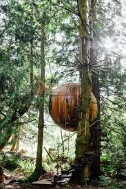 Best Treehouse Sleep In A Treehouse Hotel At Free Spirit Spheres On Vancouver