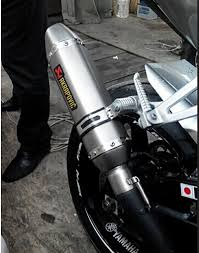 cbr 125 universal motorcycle modified scooter akrapovic exhaust muffle