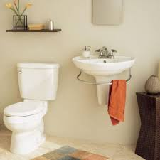 bathroom winsome bathroom square white glacier pedestal sink by