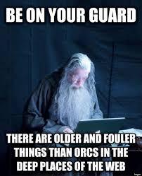 Color Guard Memes - tech support gandalf know your meme