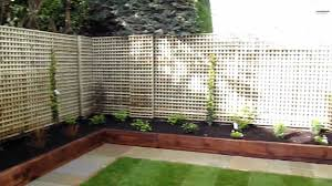 Railway Sleepers Garden Ideas Lanscaping Contract And Garden Design For Foxrock Co Dublin