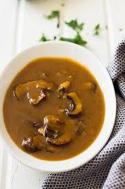 vegan mushroom gravy recipe best 25 mushroom gravy ideas on pinterest pork gravy smothered
