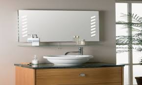 Lighted Bathroom Wall Mirror by Home Decor Lighted Bathroom Wall Mirror Small Stainless Steel