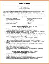 Technical Support Resume Summary Tech Support Resume Lukex Co