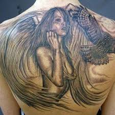 most beautiful angel tattoos ranked