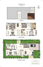 Villa Floor Plan by 4 Bhk Villas Near Fab City Hyderabad Villas Near Shamshabad Ramky