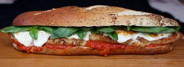 thanksgiving sub sandwich super bowl sandwiches recipe chicken parmesan heros with basil