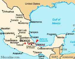 map of mexico 1821 cinco de mayo from mexonline com the battle of puebla mexico in