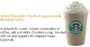 mocha frappuccino light calories starbucks white mocha light frappuccino