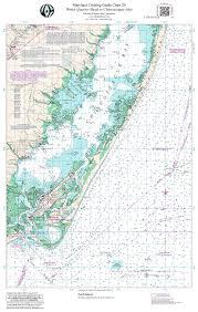 Chesapeake Bay Map Mdchart 20 Chesapeake Bay Winter Quarter Shoal To Chincoteague
