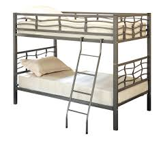 Steel Frame Bunk Beds by Amazon Com Coaster Twin Twin Bunk Bed Metal Kitchen U0026 Dining