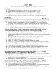 Scientific Resume Examples by Research Skills Resume The Best Resume