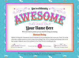fun certificate templates 25 best certificates images on pinterest bicycle safety crafts