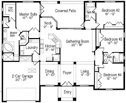 one story house plans one story split bedroom house plans house design plans