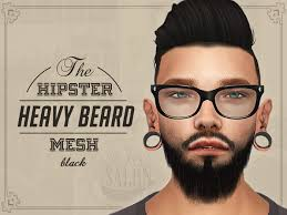 sims 4 blvcklifesimz hair big beards for sims 4 google search the beard experience