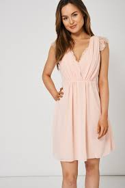 what to wear with a light pink dress light pink v neck dress with lace detail lessthan10pounds