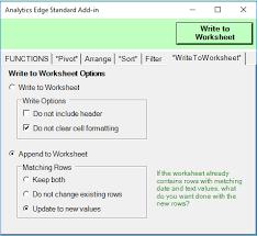 functions analytics edge help