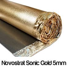 novostrat sonic gold 5mm sonic gold 5mm d proof membrane dpm sound reduction leveling