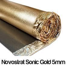 novostrat sonic gold 5mm sonic gold 5mm d proof membrane dpm sound reduction leveling