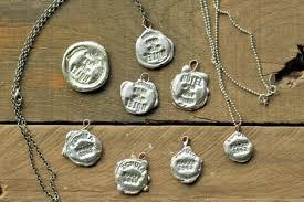 silver necklace diy images To make stamped solder pendants jpg