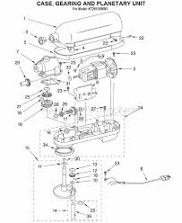 parts for kt2651xww3 kitchenaid mixers