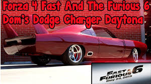 dodge charger 6 4 forza 4 fast and the furious 6 dodge charger daytona drift tune