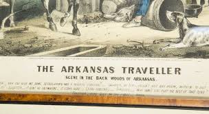 Arkansas travelers rest images Ives quot the arkansas traveler quot quot the turn of the tune quot jpg