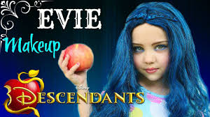 halloween makeup store disney descendants evie makeup tutorial perfect look for