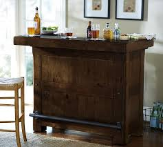 rustic wood for sale rustic ultimate bar small pottery barn