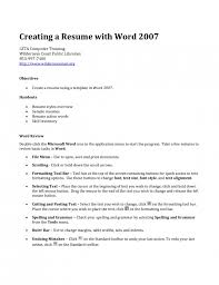 Create A Job Resume The Stylish Creating A Job Resume Resume Format Web