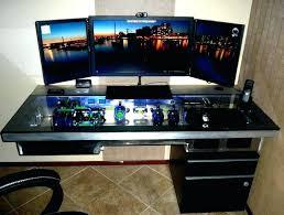 Best Gaming Desk Coolest Computer Desk Computer Desk For Gaming Best Gaming