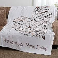personalized christening blanket personalized blanket for 50x60 heart of gifts