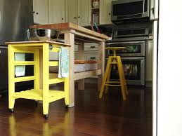 Small Kitchen Cart by Cute Small Kitchen Carts With Yellows Accentuate Combined Iron