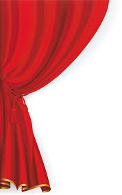 red curtains clipart 30