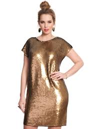 gold dresses for new years 33 plus size dresses for new year s because what better