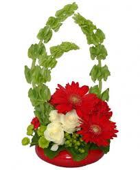 bells of ireland flower blissful bells of ireland bouquet vase arrangements flower
