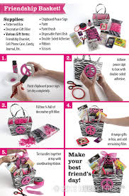 awesome gift baskets make a diy friendship basket for an awesome gift this s