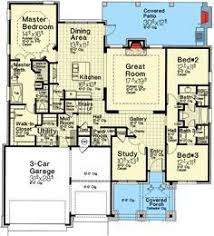 1st Floor Master House Plans First Floor Plan Of Country Ranch House Plan 73189 Would Switch