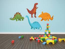 nursery nursery wall name decals thousands pictures of wall dinosaur decals dinosaur wall decals 4 piece set by krankykrab