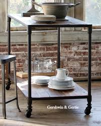 kitchen island legs metal farmhouse kitchen island with metal legs and reclaimed elm top