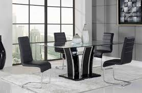 rectangular glass top dining room tables contemporary glass top dining room sets