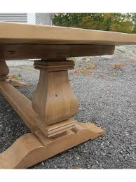 Old Pine Furniture 108 X 44 Old Pine Chateau Trestle Table 223 Cottage Home