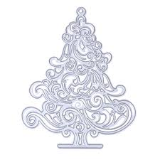 aliexpress com buy christmas tree decorations metal cutting dies