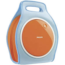 cd player kinderzimmer philips az250 tragbarer cd player für kinder weiß orange cd ebay