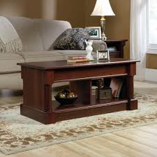 amazon com sauder palladia lift top coffee table in cherry