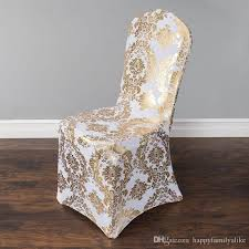 rental chair covers wedding chair cover european gold st chair slipcover special