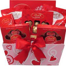 Gift Baskets Free Shipping Lindt Valentine U0027s Day Chocolate Gift Baskets Vancouver Free Shipping